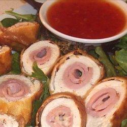Ham and Chicken Rolls recipe
