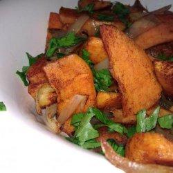 Roasted Spiced Sweet Potatoes recipe