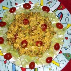 Curried Chicken Salad (Salad or Sandwich) recipe
