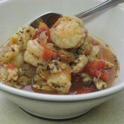 Italian seafood soup recipe