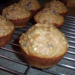 Applesauce Oat Muffins for 2 recipe