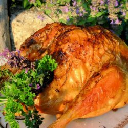 Lavender and Honey Roasted Chicken recipe