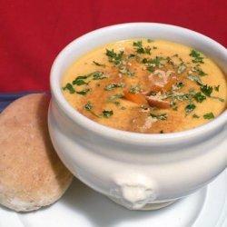 Cream of Carrot Soup (Porkkanasosekeitto) recipe