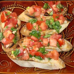 Vodka Tomato Bruschetta recipe