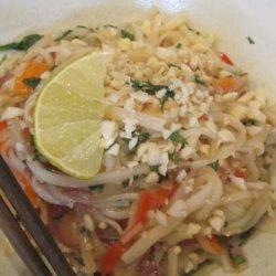 Vegetable Pad Thai recipe