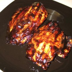 Chicken With Balsamic BBQ Sauce recipe