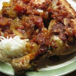 Crock Pot -Saucy Italian Chicken Thighs recipe