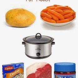 Delicious Pot Roast recipe
