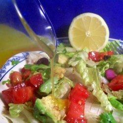 Paula Deen's Lemon Salad Dressing recipe