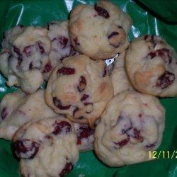 Cranberry White Chocolate Cookies recipe