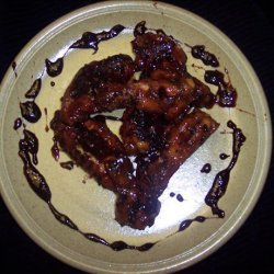 Garlic Chicken wings in Coke recipe
