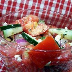 Yummy Greek Salad recipe