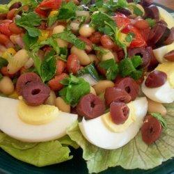 Turkish Piyaz (Bean Salad) recipe