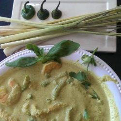 Shrimp and Coconut Curry With Green Beans recipe