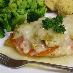 Chicken Cutlets With Artichokes, Tomato and Mozzarella recipe
