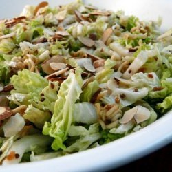 Napa Cabbage Salad With a Crunch recipe