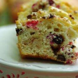 White Chocolate Cranberry Loaf (Light) recipe