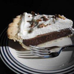 White Trash Chocolate Pie recipe