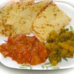 Potato Curry for 1 recipe