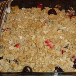 Fruit Crisp Topping recipe