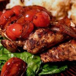 Herb Chicken with Warm Vinaigrette recipe
