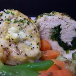 Spinach & Feta Stuffed Chicken Breasts recipe