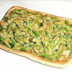 Green Beans with Peanut Dressing recipe