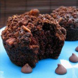 Cocoa Applesauce Muffins recipe