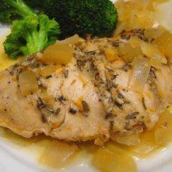 Herbed Turkey Breast With Orange Sauce - Crock Pot recipe