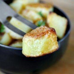 Sauteed Garlic Potatoes recipe
