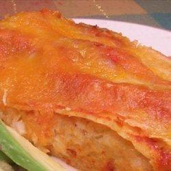 Three Cheese Chicken Enchiladas recipe