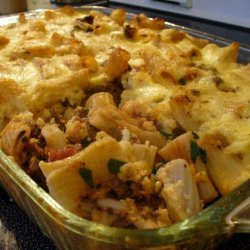Meat and Macaroni Pie - Pastitsio recipe