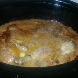 Crock Pot Chicken With Tomato and Cream of Chicken Soup recipe