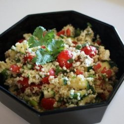 Couscous and Cherry Tomato Salad recipe