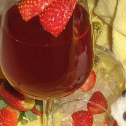 Strawberry Water (Or Strawberry Cordial) recipe
