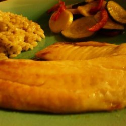 Tilapia With Garlic Lime Butter recipe