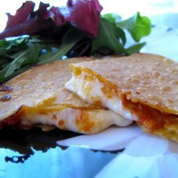 Gluten Free Pepperoni Pizza Quesadilla recipe