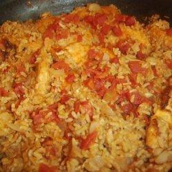 Simple Arroz Con Pollo recipe