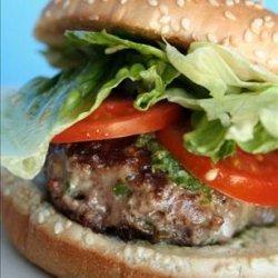Pepper Jack Cheeseburgers With Jalapeño-Cumin Sauce recipe