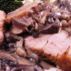 Pork Tenderloin With Mushroom Sauce recipe