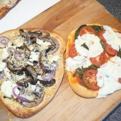 Quick Rise Pizza Margherita (With Topping Variations) recipe
