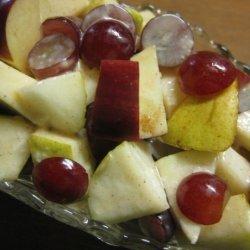 Apple Pear Salad recipe