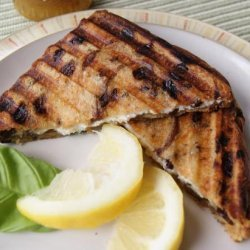 Grilled Goat Cheese Sandwiches With Fig and Honey recipe