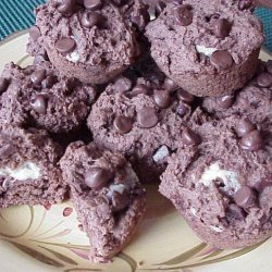 Double Chocolate Cheesecake Muffins (New Zealand) recipe
