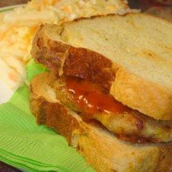 Easy Chicken and Cheese Burger Patties (Ground Chicken or Turkey recipe
