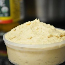 Hummus from Dried Chickpeas recipe
