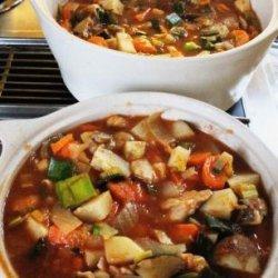 Vegetable Hotpot recipe