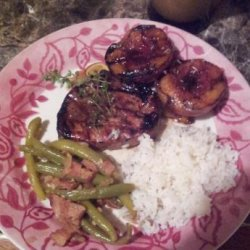 Grilled Chicken With Balsamic Peach Marinade recipe