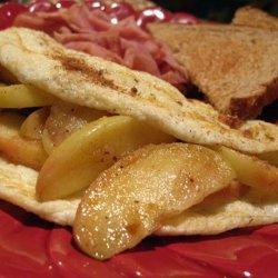 Apple Pie Omelette recipe