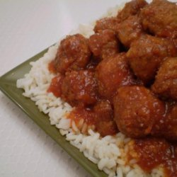 Spicy Party Meatballs recipe